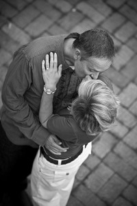 Kim and Sean's engagement